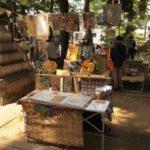 雑司が谷の手創り市に初出店してきました、お寺の境内とても気持ちよかった。