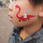 アースデイ東京2015での様子など、フェイスペイント画像たくさん追加しました。