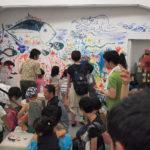 2017年夏の振り返りその二、長崎村の海びらきで生演奏聴きながらギャラリーに壁画、大盛況でしたありがとう!