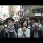 日曜に完成した鯉のぼり写真と、高円寺デモ動画