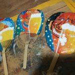 明日とあさっては代々木公園のアースガーデンのキッズエリアでフェイスペイント&展示販売!!!!夏の絵柄を描きますよー。ビールうちわもいっぱい持っていくよ