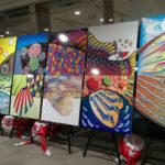明日11/4~11/13、杉並区役所二階でイラスト仕事にスポットを当てた杉並のイラストレーター展に出展!