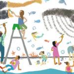 夏到来。来週の月曜、海の日は近所のターナーギャラリーで海がないのに「海びらき」という名のイベントだよ。素敵な音楽家が多数出演&みんなで壁に海の絵を描くよーーーーー!!!!おいでおいで